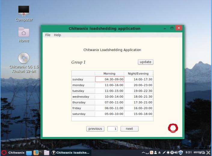 Load shedding apps