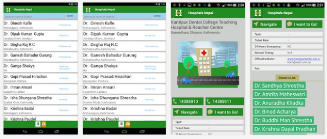 Source: Google Play Store - Hospitals Nepal [UI]